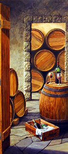 ArtDogs.com • Wine Cellar