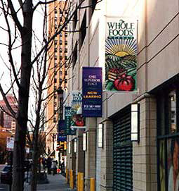 WHOLE FOODS BANNERS