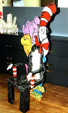 Dr Seuss Chair Prototype