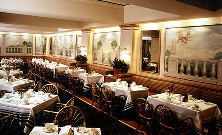 FAIRMONT HOTEL • PRIMAVERA RESTAURANT & BAR; Chicago