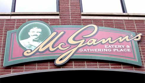 McGANN'S EATERY; Western Springs, IL