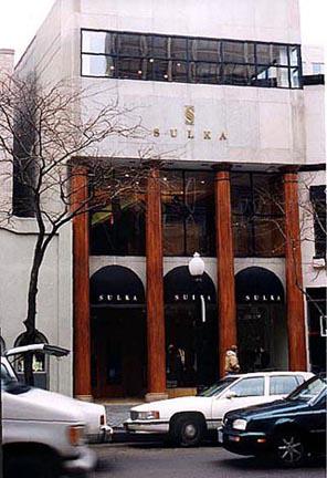 SULKA'S MENS STORE • Oak Street; Chicago