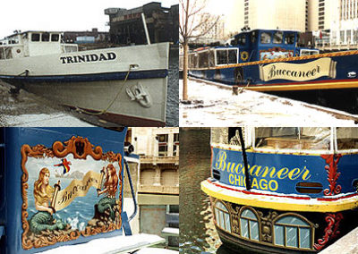 BUCCANEER SHIP; Chicago River