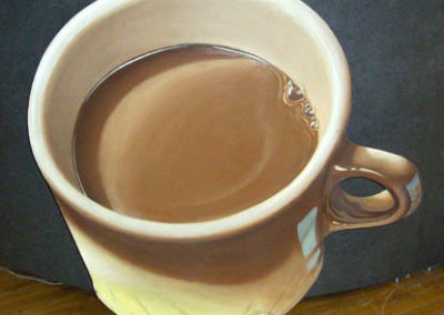 OVERSIZE CUT-OUT COFFEE CUP