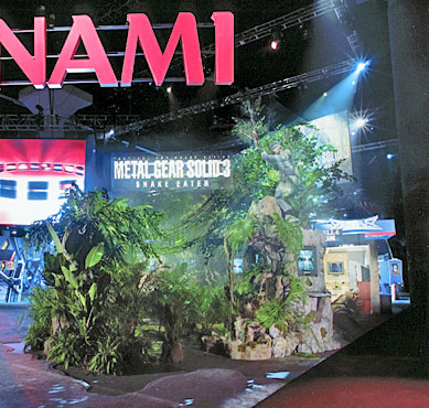 KONAMI VIDEO; E3 Convention, Los Angeles