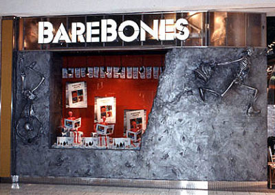 BARE BONES STORE • Woodfield Mall; Schaumburg, IL