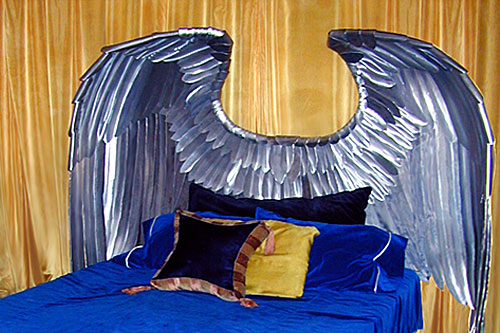 WINGS • CUSTOM HEADBOARD